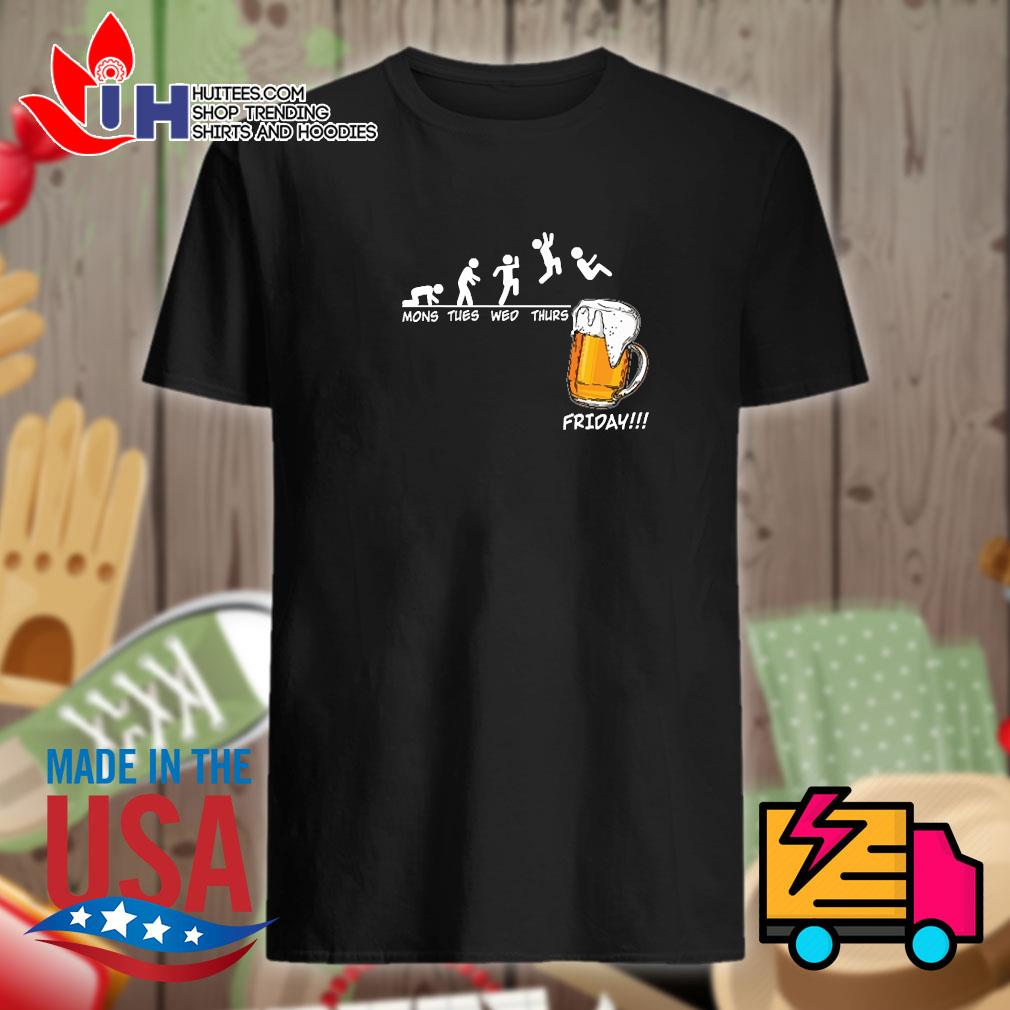 Beer Mons thes wed thurs friday shirt