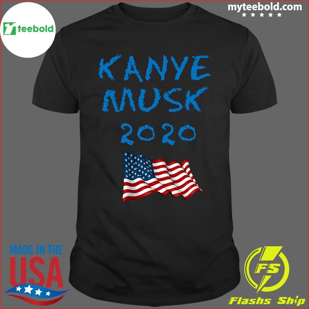 Kanye Musk 2020 American Flag Shirt