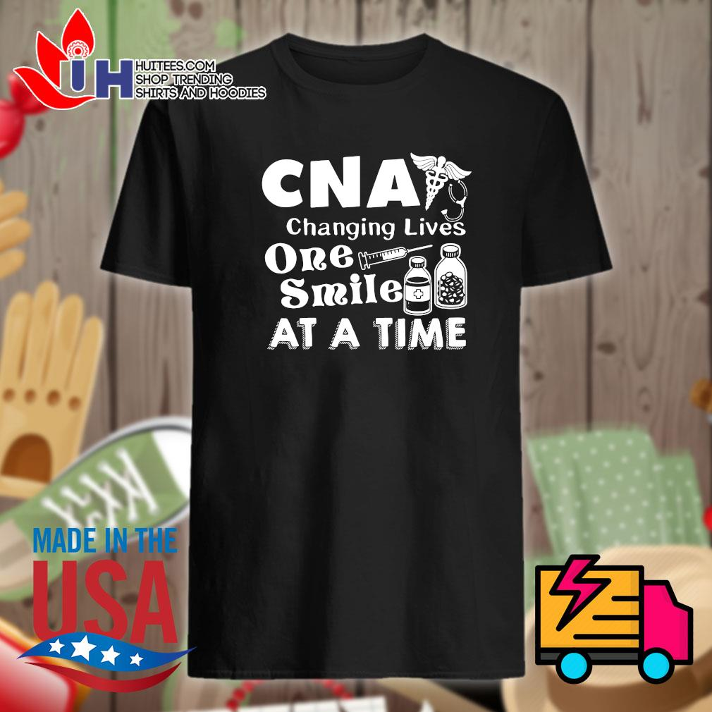 CNA Changing lives one Smile at a time shirt