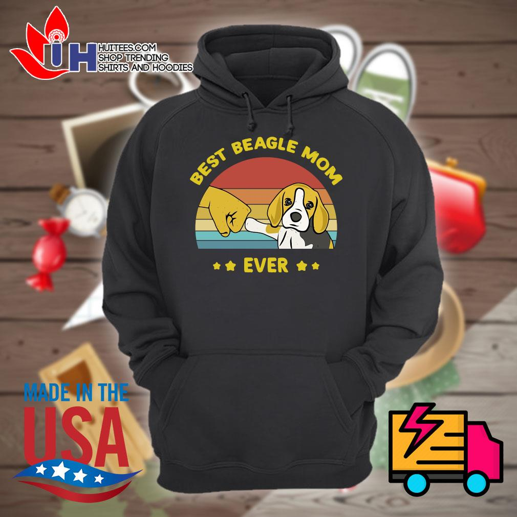 Best Beagle mom ever vintage s Hoodie