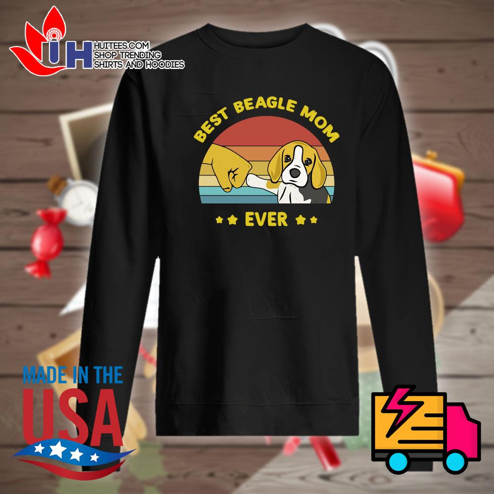 Best Beagle mom ever vintage s Sweater