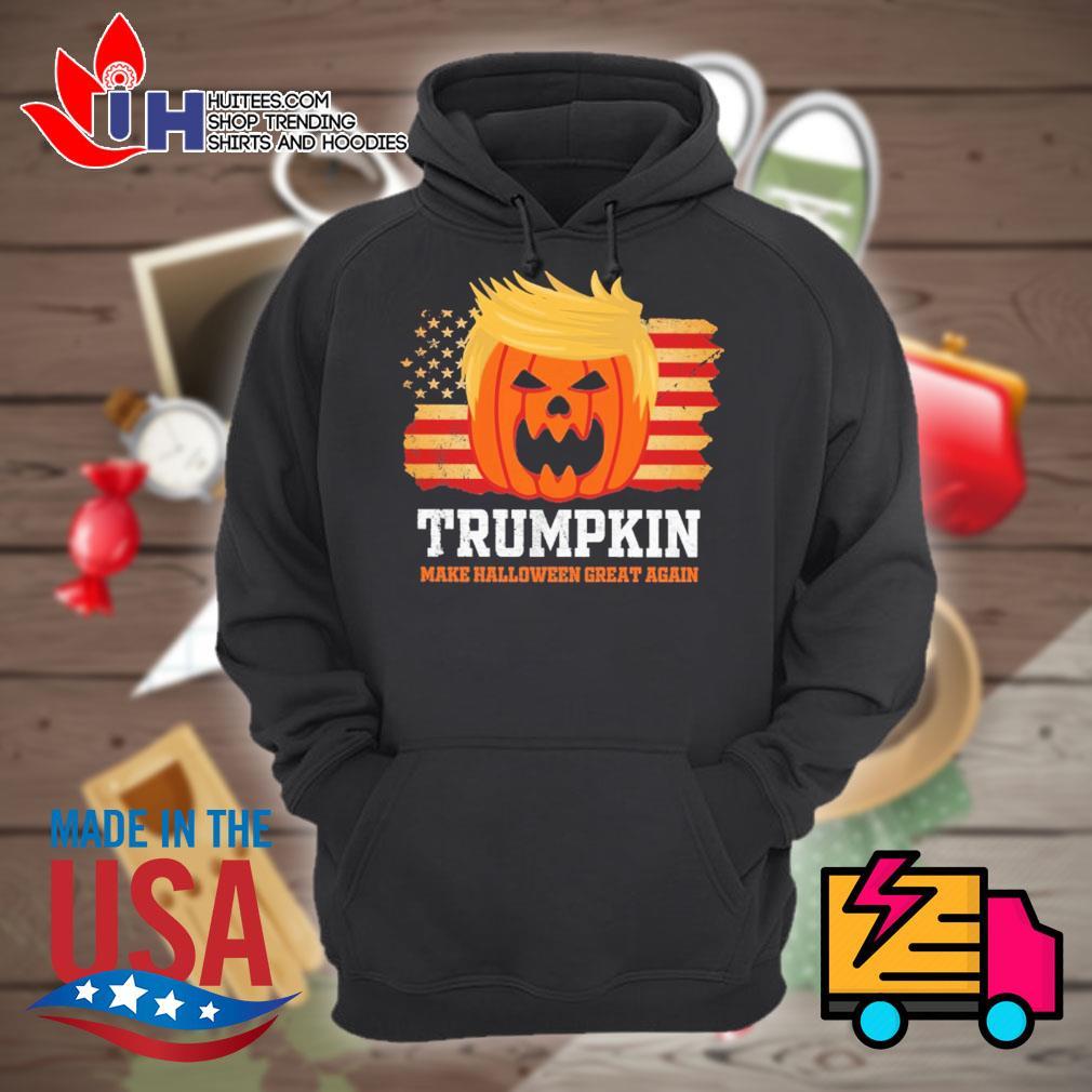 American flag Trumpkin make Halloween great again s Hoodie