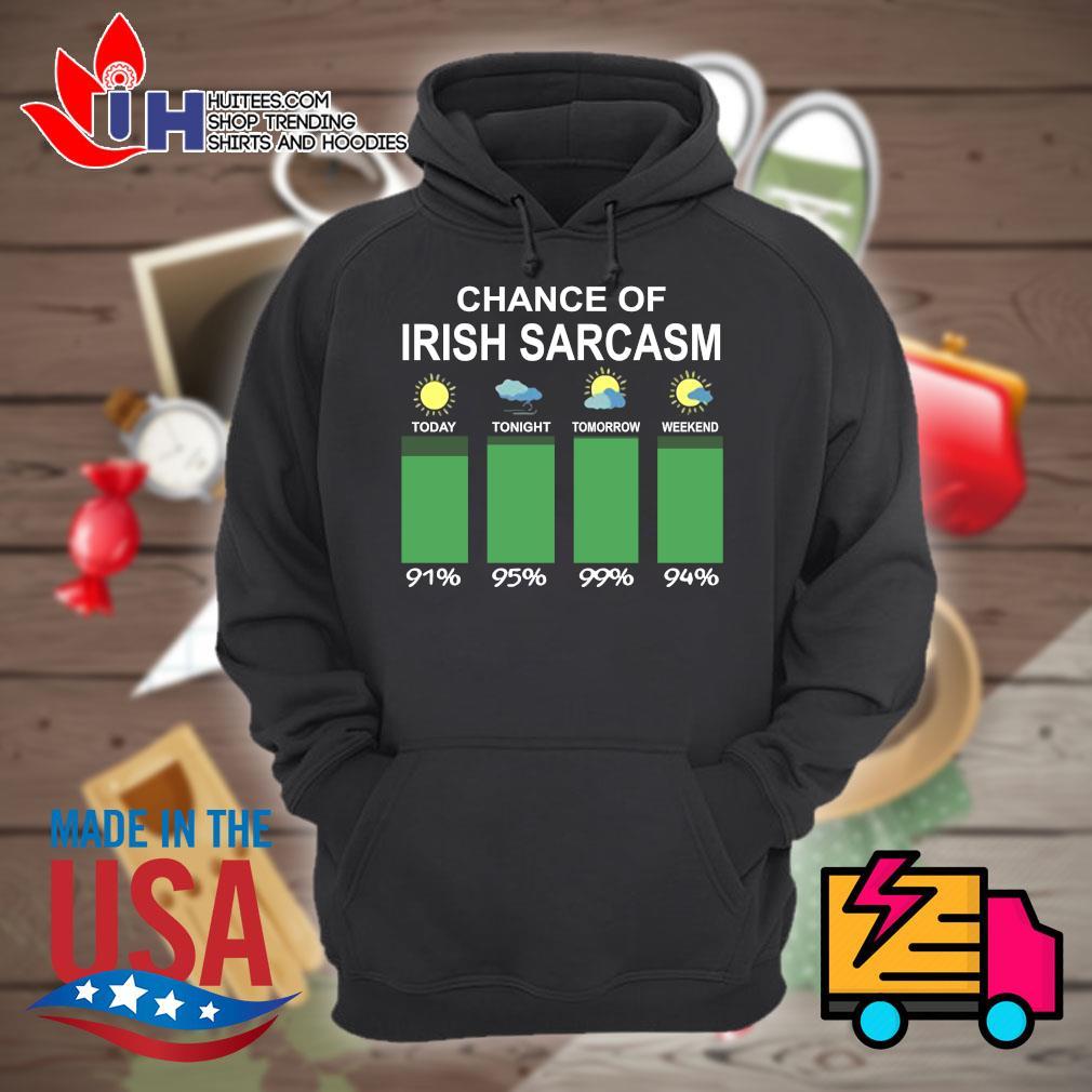 Chance of Irish sarcasm s Hoodie