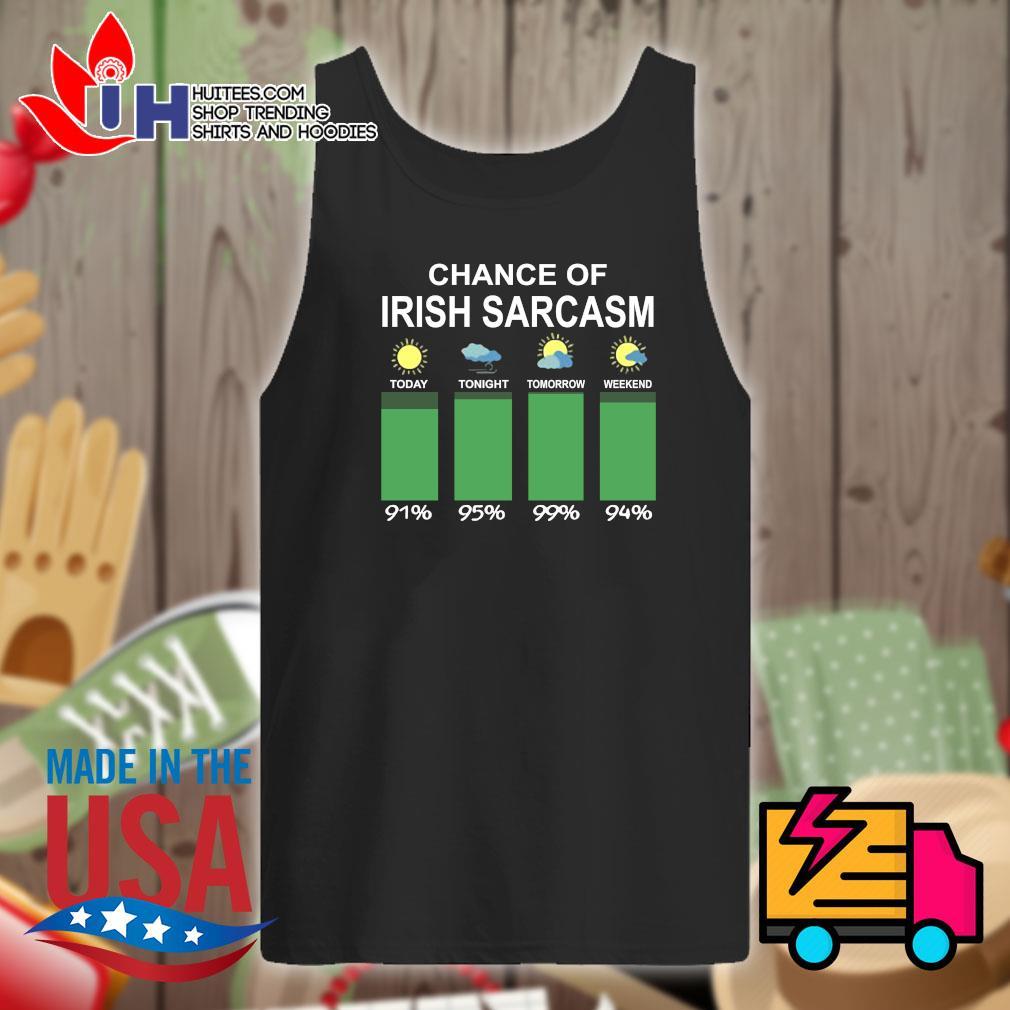 Chance of Irish sarcasm s Tank-top