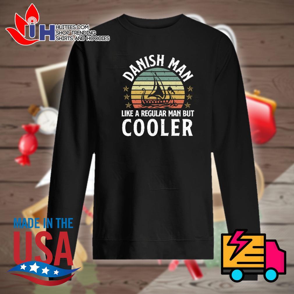 Danish Man like a regular man but Cooler vintage s Sweater