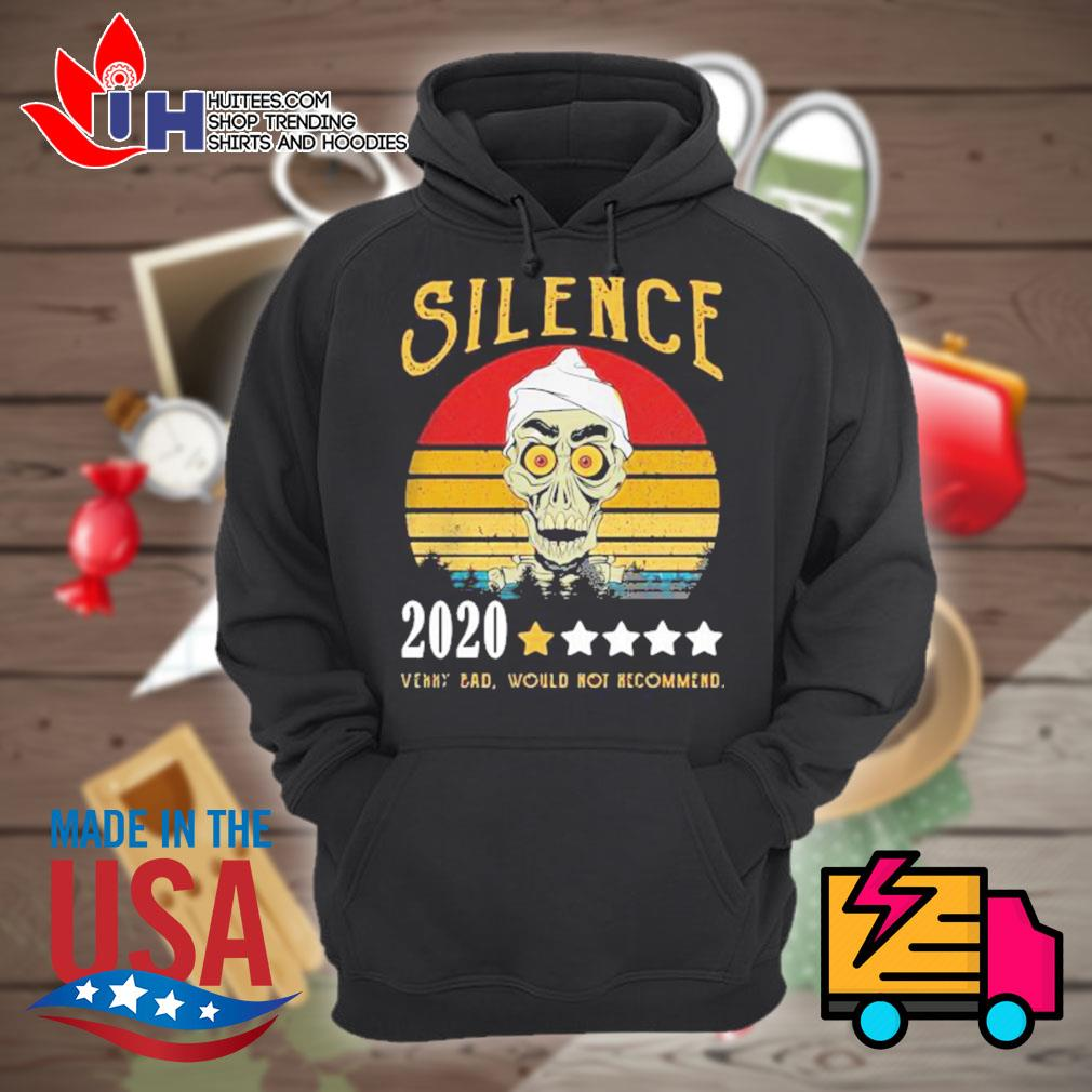 Achmed Silence rating star 2020 very bad would not recommend vintage s Hoodie