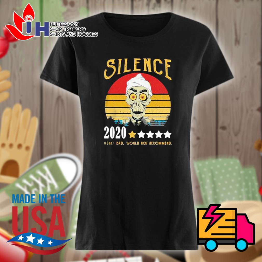 Achmed Silence rating star 2020 very bad would not recommend vintage s Ladies t-shirt