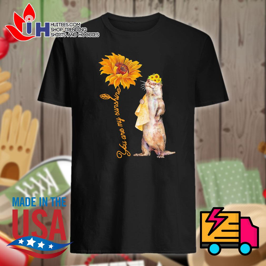 Cat you are my sunshine shirt