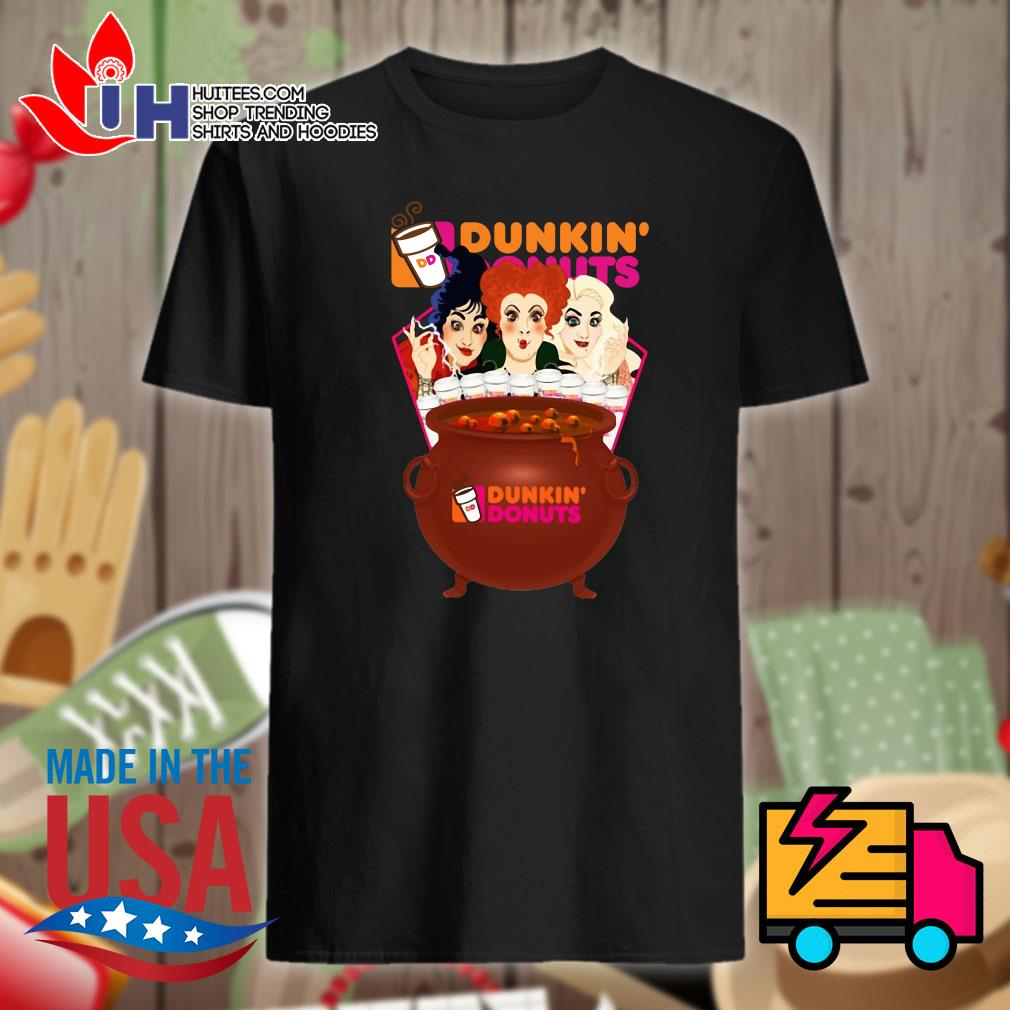 Hocus Pocus Dunkin' Donuts Halloween shirt