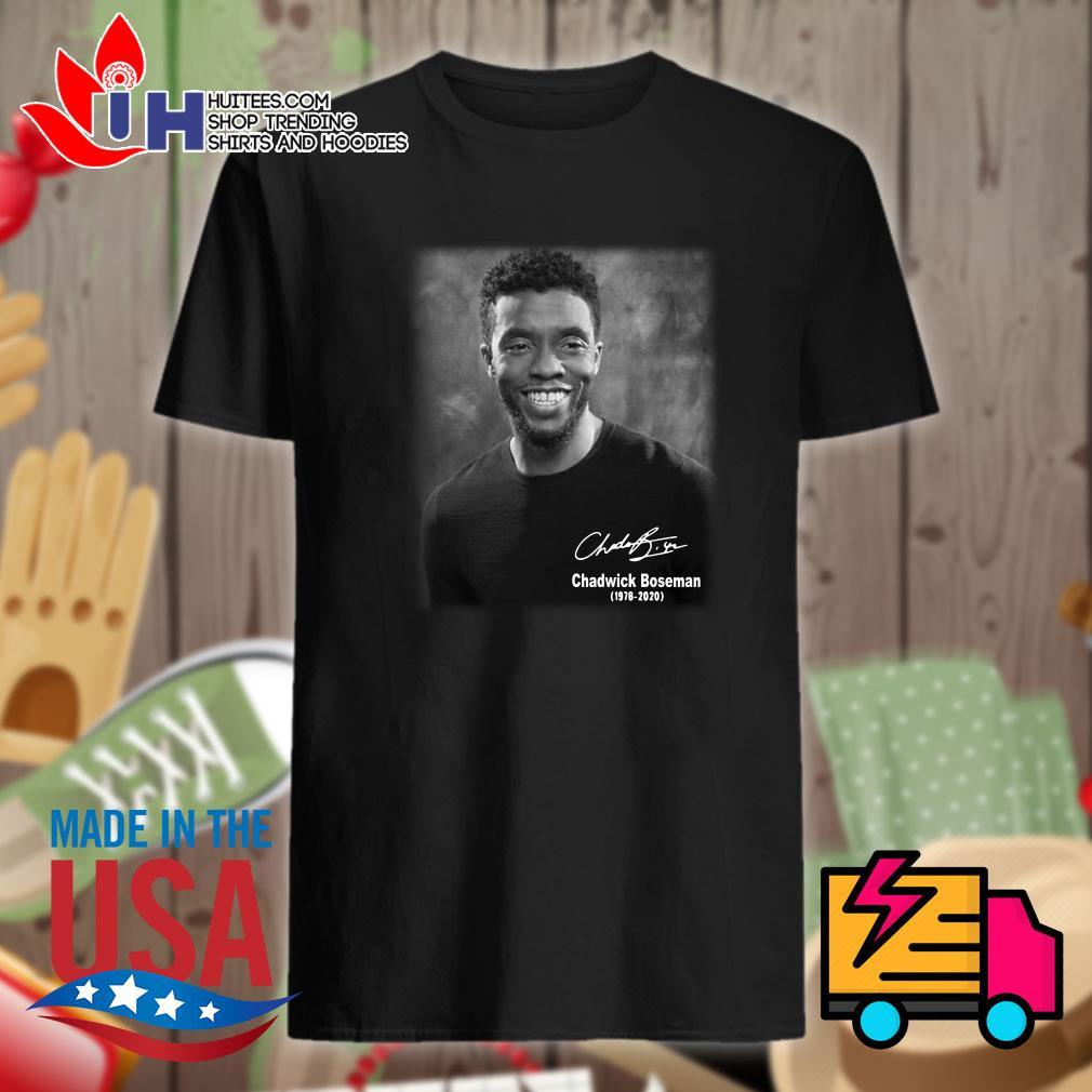 Avatar Chadwick Boseman 1976 2020 signature shirt