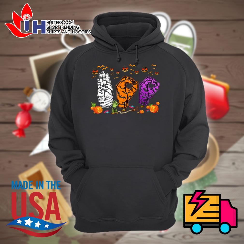 ASL Boo Halloween s Hoodie