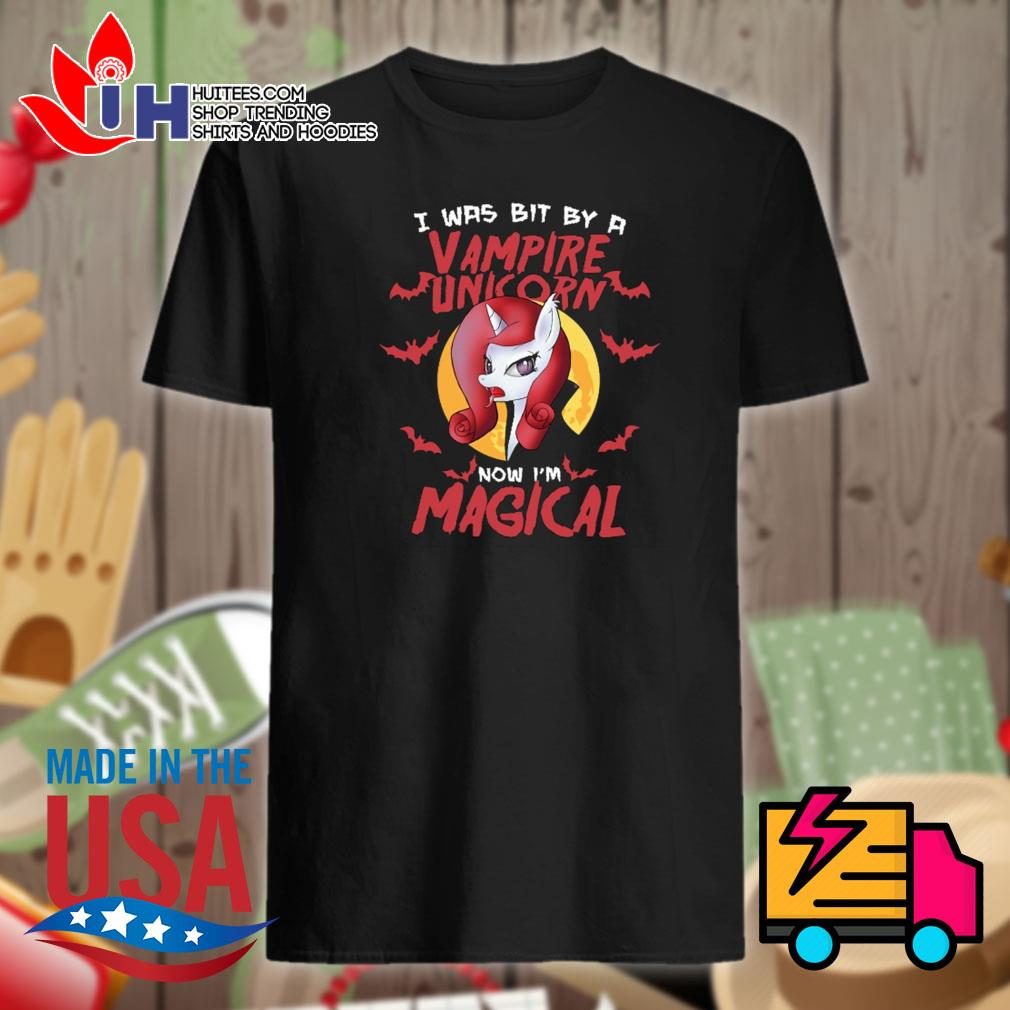 I was bit by a Vampire Unicorn now I'm Magical shirt