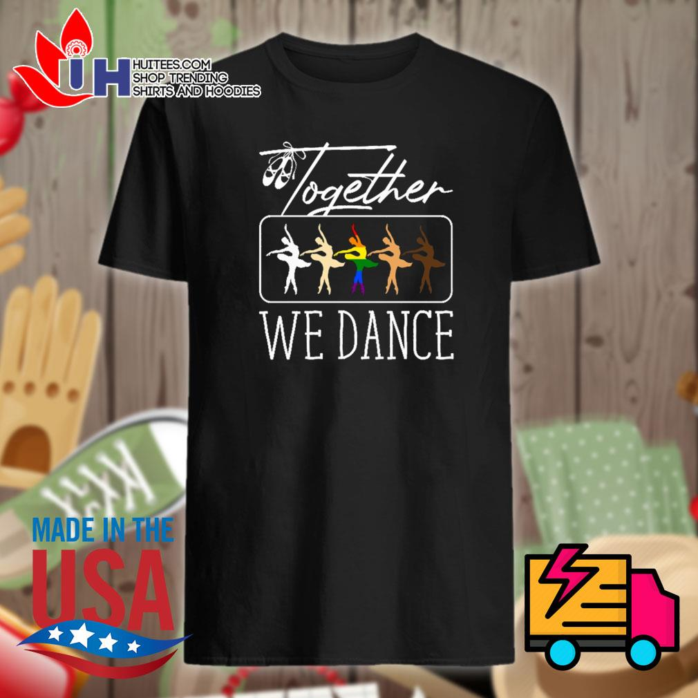 Autism together we dance shirt