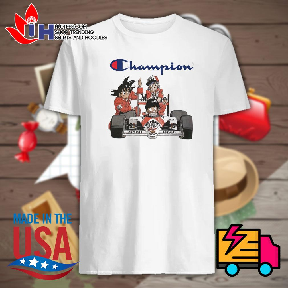 Dragon Ball MarLboro Shell Champion shirt