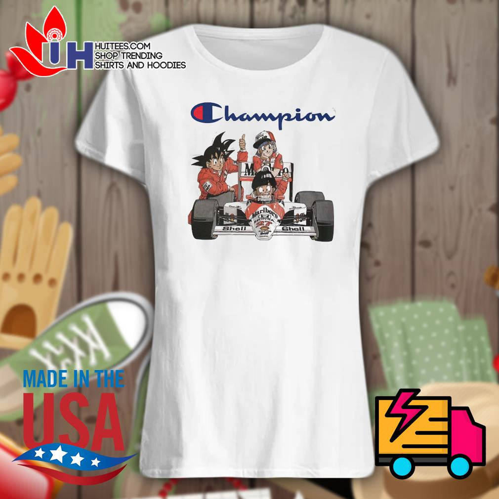Dragon Ball MarLboro Shell Champion s Ladies t-shirt