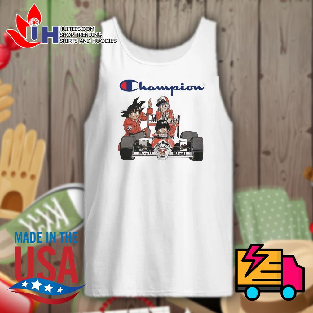 Dragon Ball MarLboro Shell Champion s Tank-top