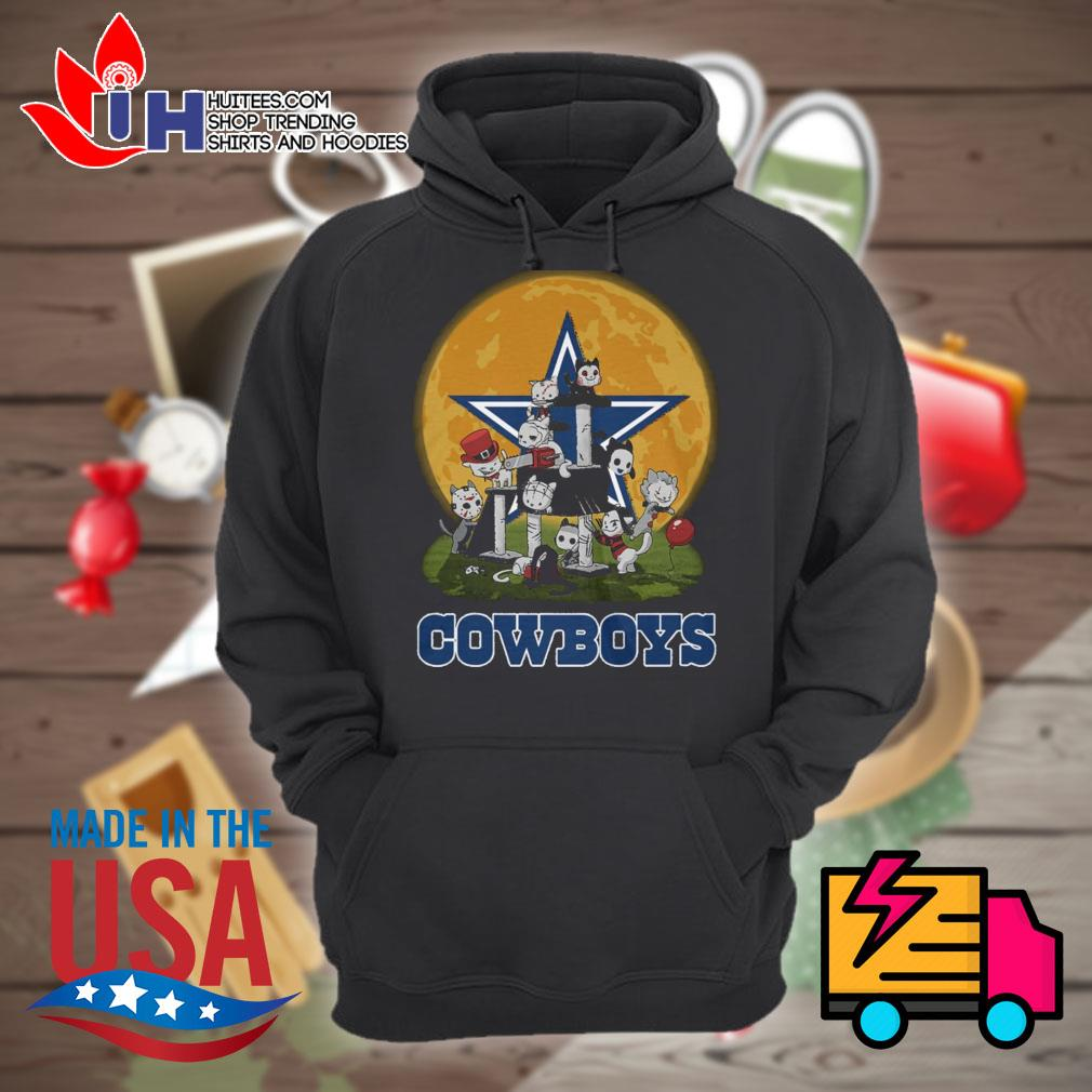 Dallas Cowboys Horror cats Halloween s Hoodie