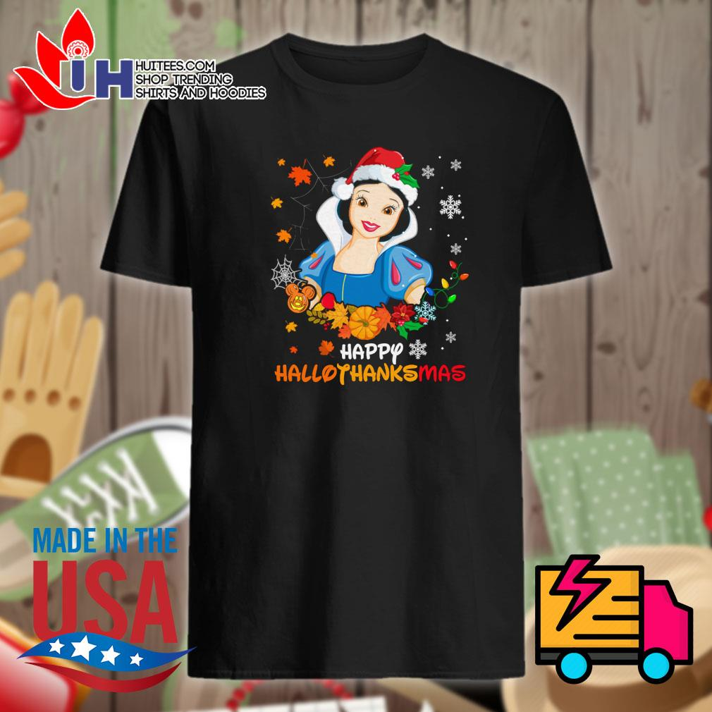 Snow White Disney happy HalloThanksMas shirt