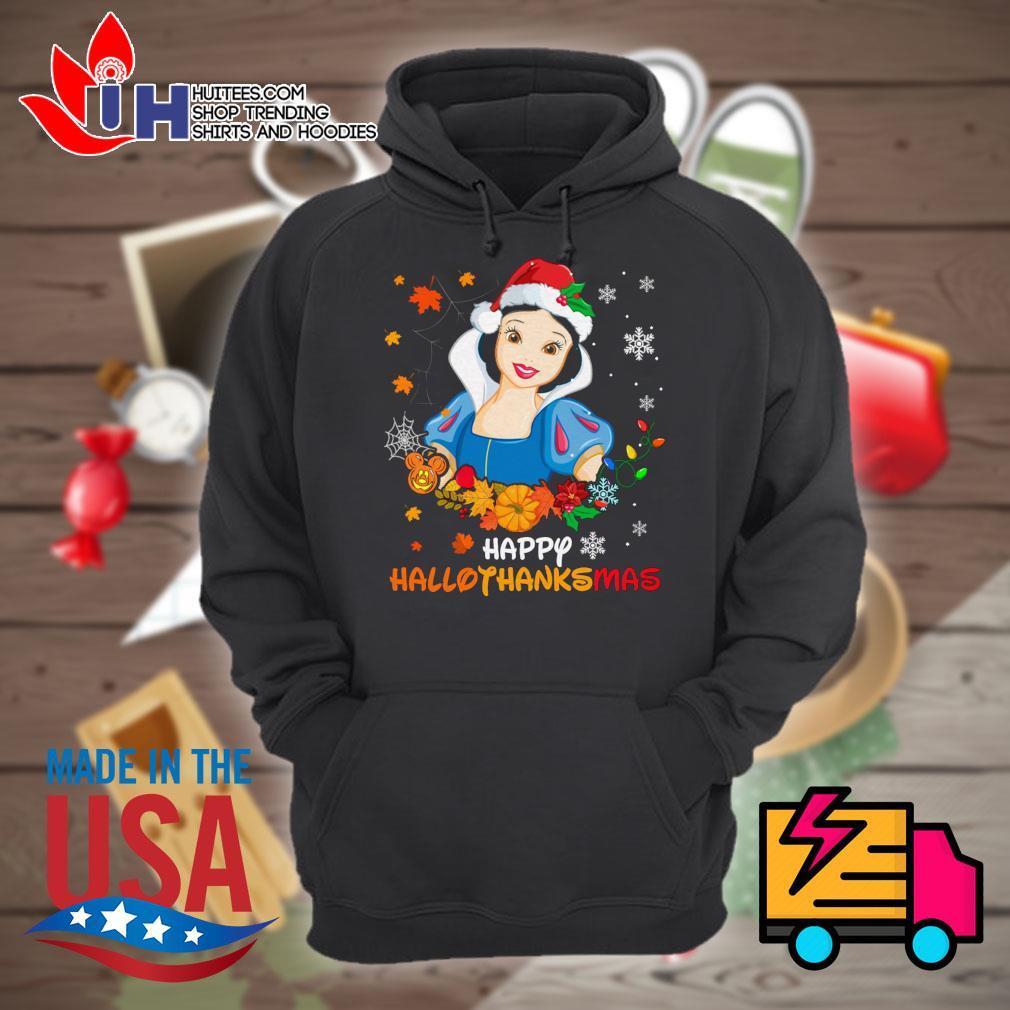 Snow White Disney happy HalloThanksMas s Hoodie