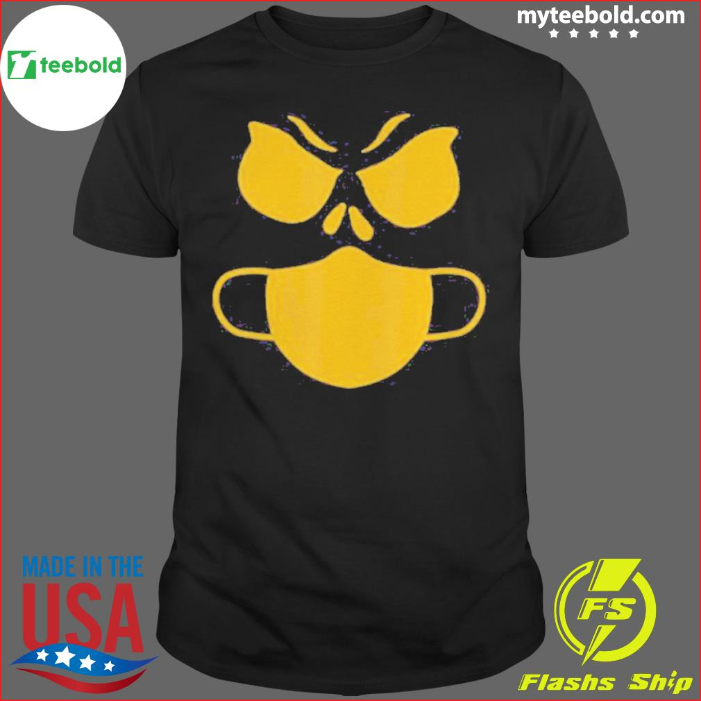 Halloween Pumpkin Wearing A Mask 2020 Jackolantern Shirt