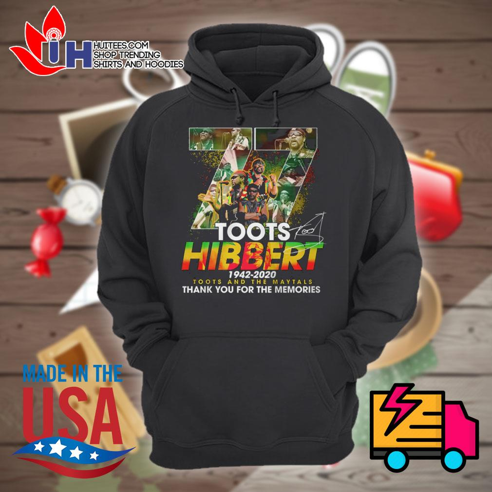 77 Toots Hibbert 1942 2020 signature thank you for the memories s Hoodie