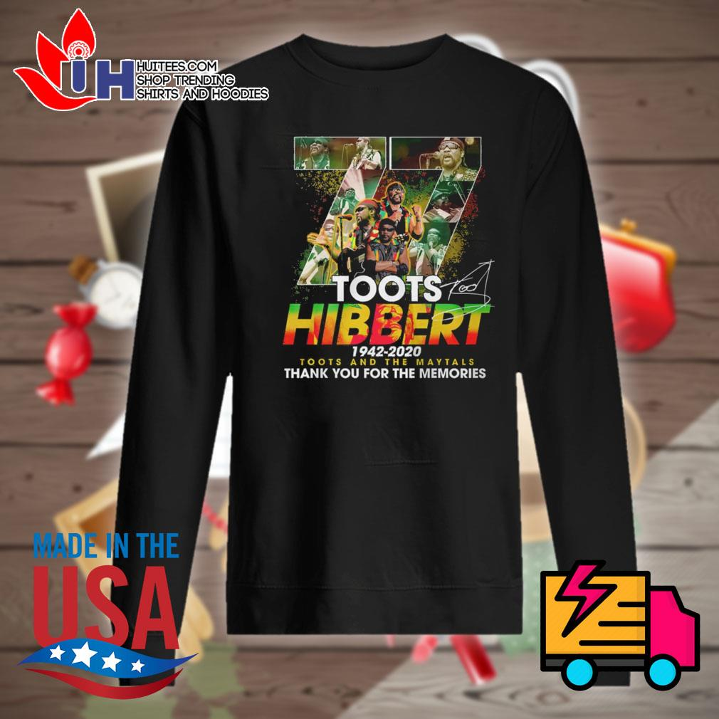 77 Toots Hibbert 1942 2020 signature thank you for the memories s Sweater