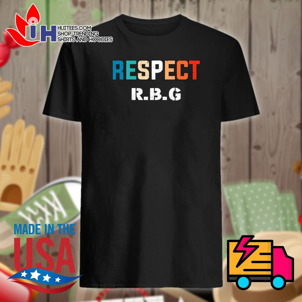 Respect RBG Ruth Bader Ginsburg shirt