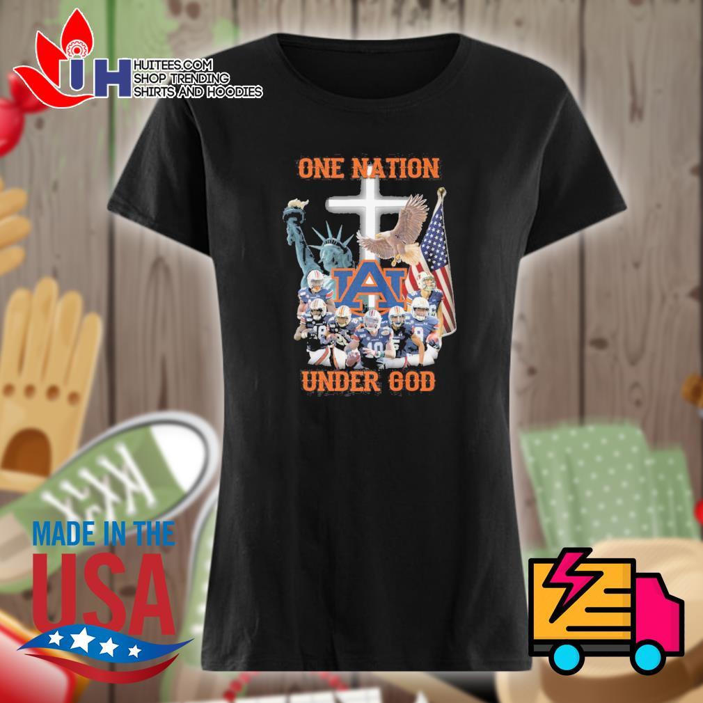 Auburn Tigers one Nation under God s Ladies t-shirt