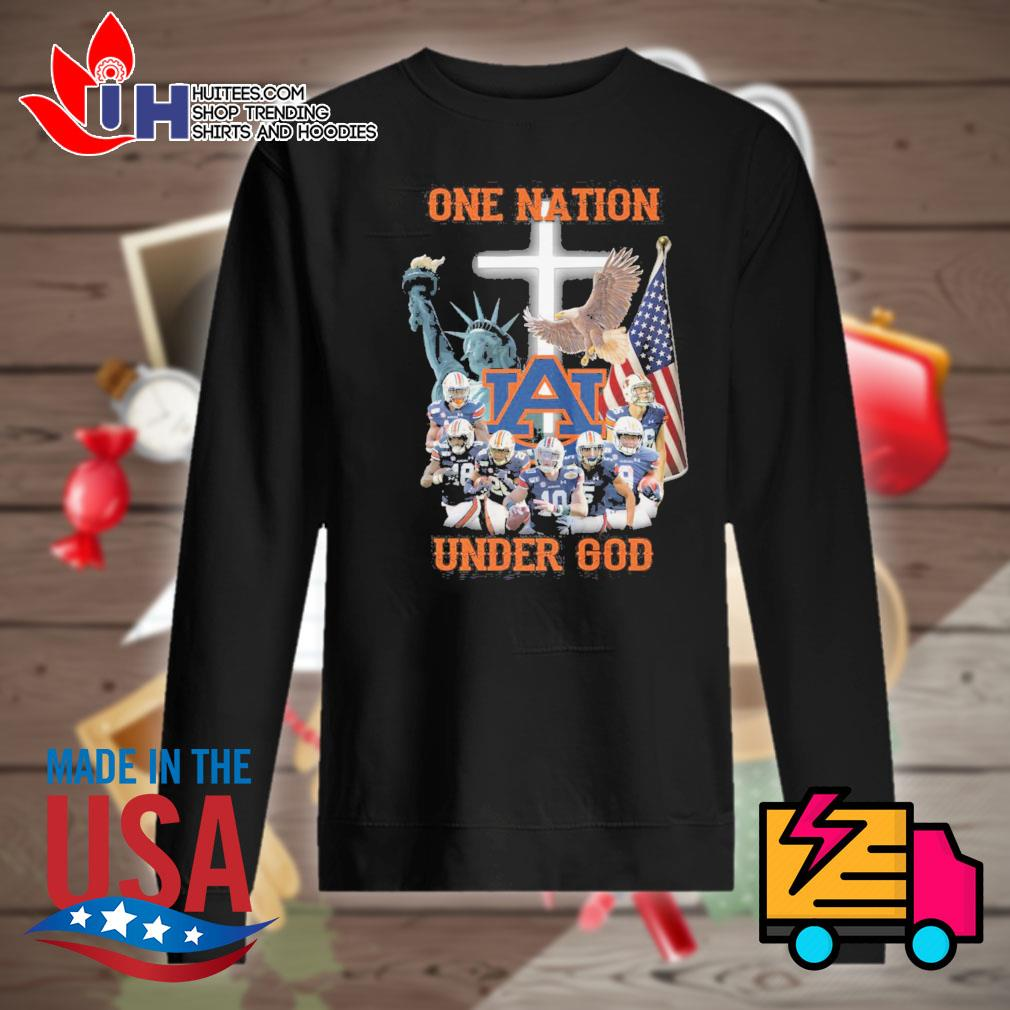Auburn Tigers one Nation under God s Sweater