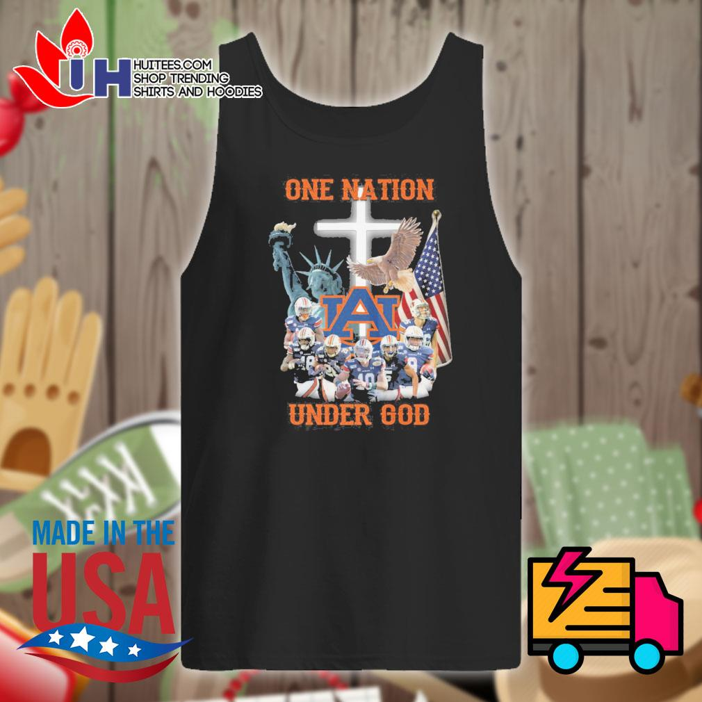Auburn Tigers one Nation under God s Tank-top