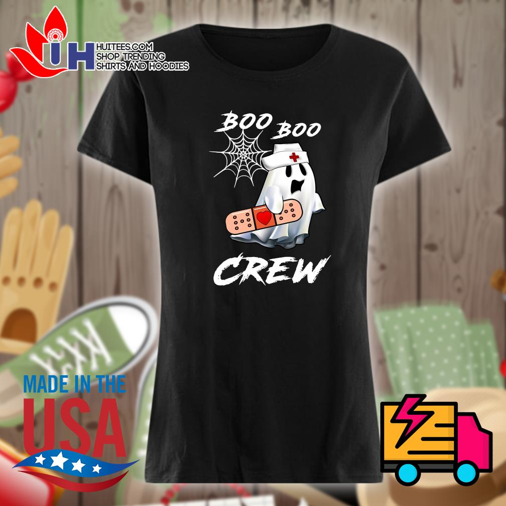 Boo Boo nurse crew Halloween s Ladies t-shirt
