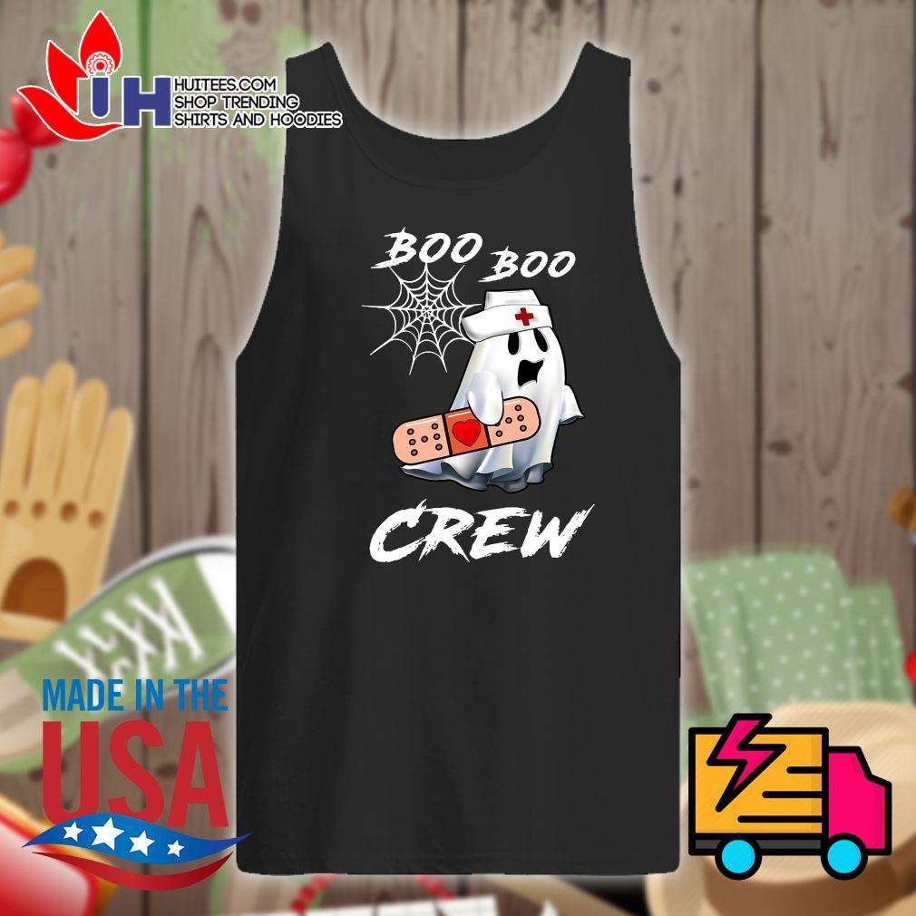 Boo Boo nurse crew Halloween s Tank-top