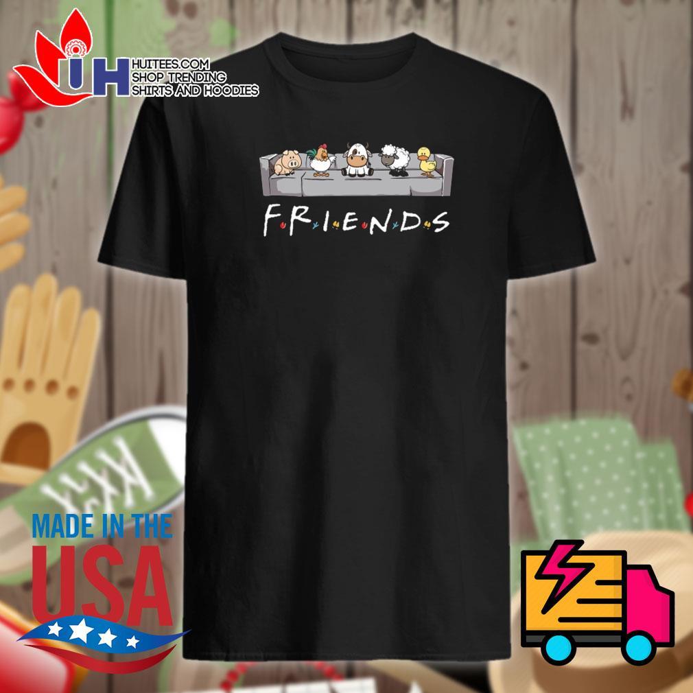 Vegan animals Friends shirt