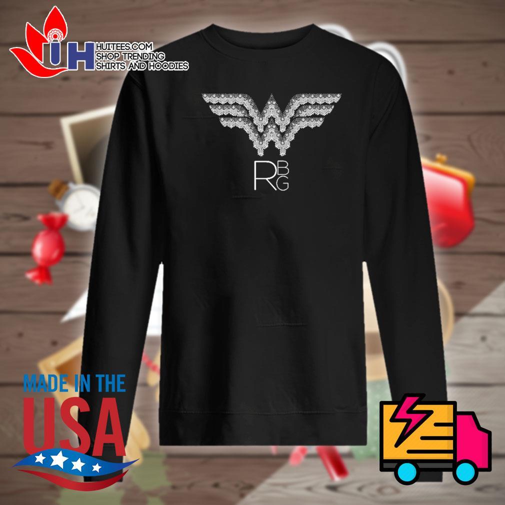 RBG Ruth Bader Ginsburg wonder woman logo s Sweater