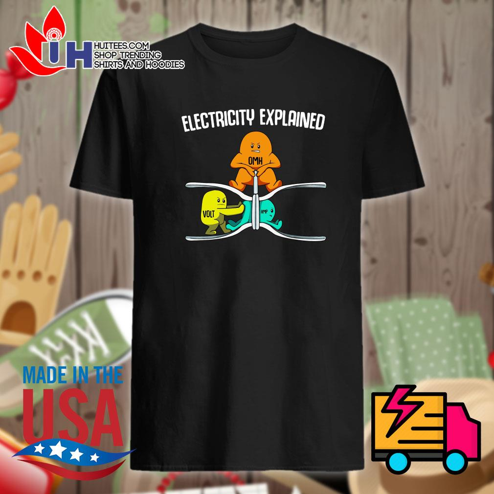 Electricity explained OMH Volt Amp shirt
