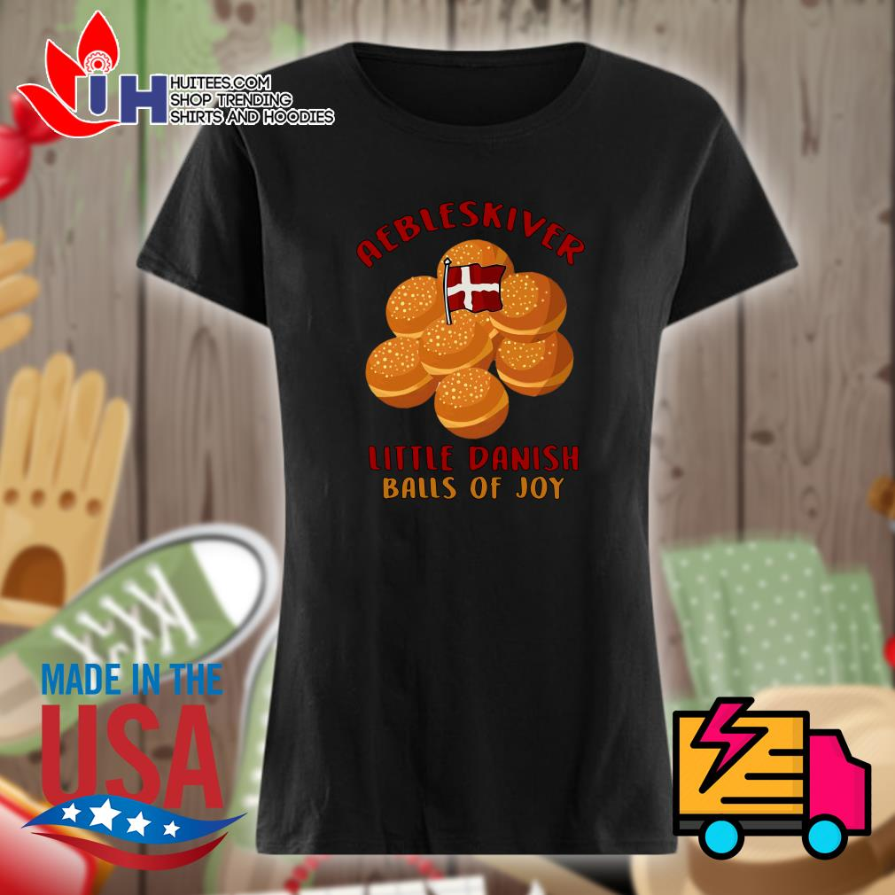 Aebleskiver little danish balls of joy s Ladies t-shirt