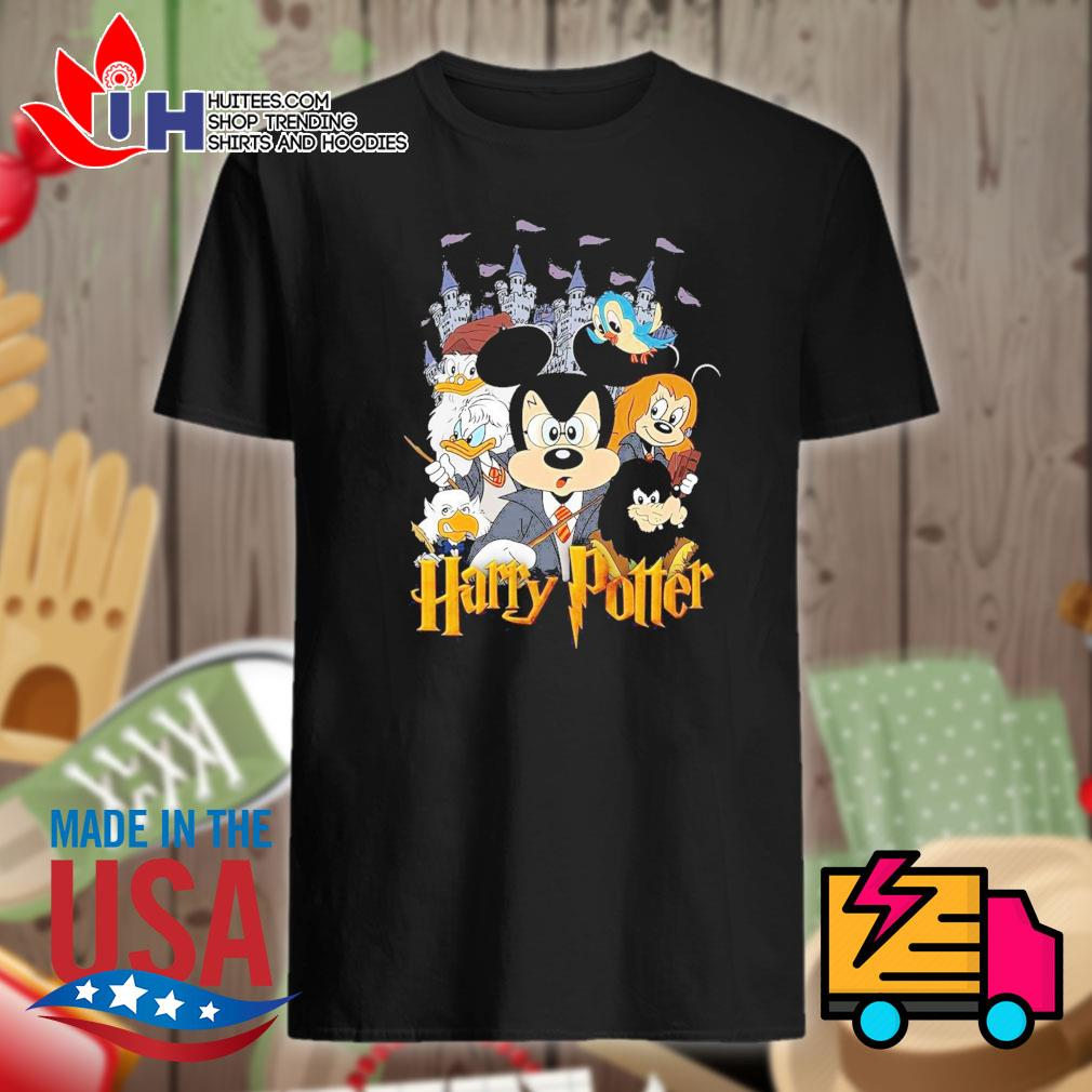 Mickey and Friends become Harry Potter shirt