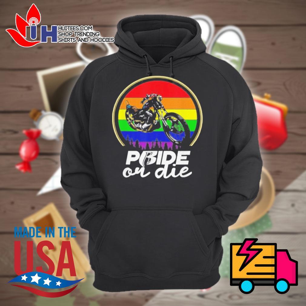 Gay Pride or Die Vintage s Hoodie
