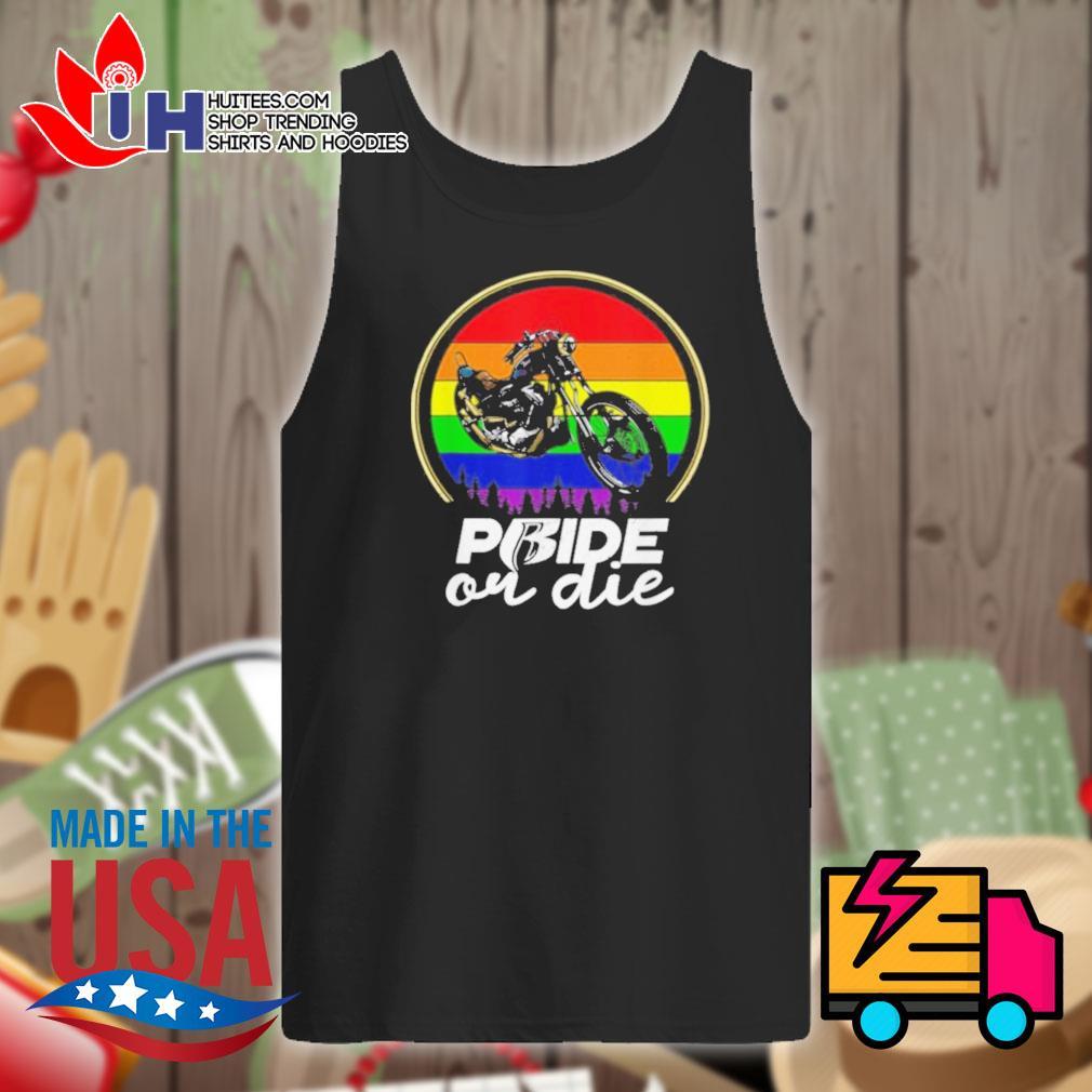 Gay Pride or Die Vintage s Tank-top