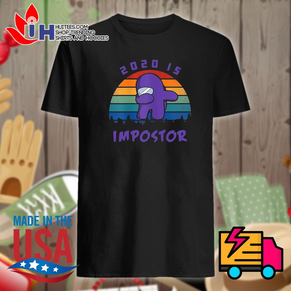 Dabbing 2020 impostor Imposter Among Game Us Sus shirt