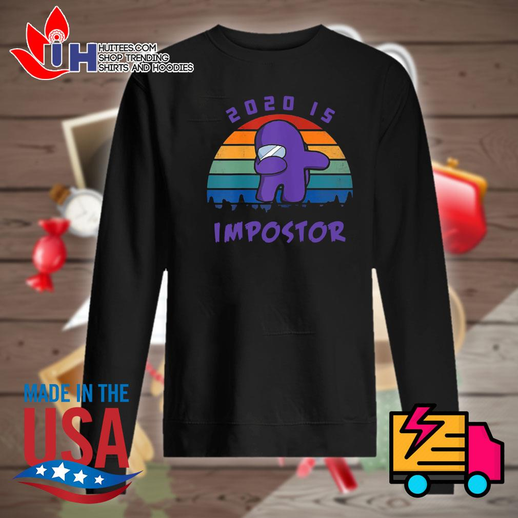 Dabbing 2020 impostor Imposter Among Game Us Sus s Sweater