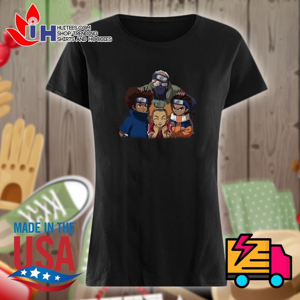 The Boondocks Team 7 Naruto s Ladies t-shirt