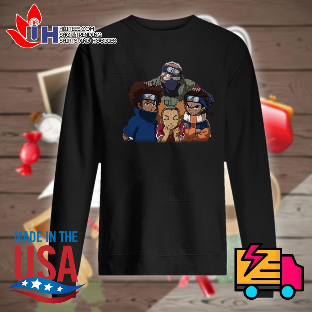 The Boondocks Team 7 Naruto s Sweater