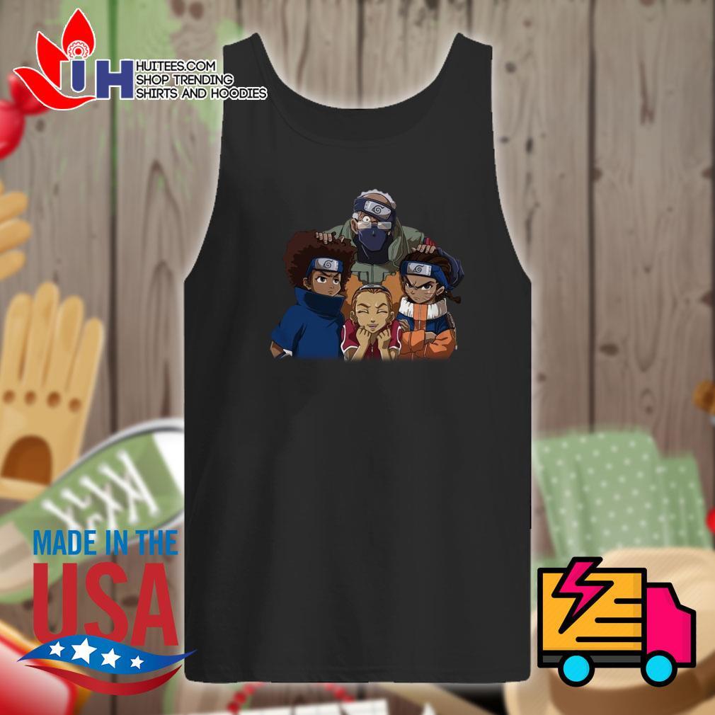 The Boondocks Team 7 Naruto s Tank-top