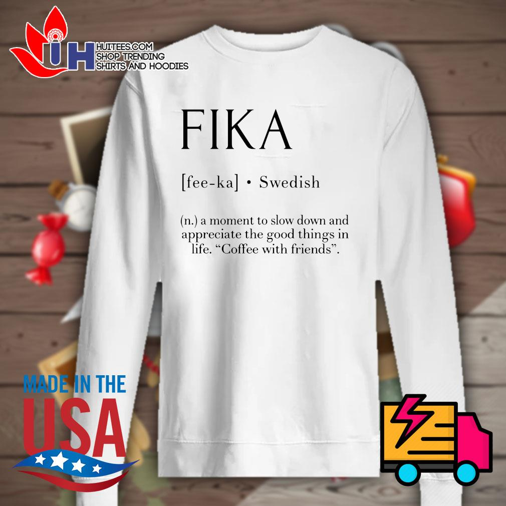 Fika Swedish definition s Sweater