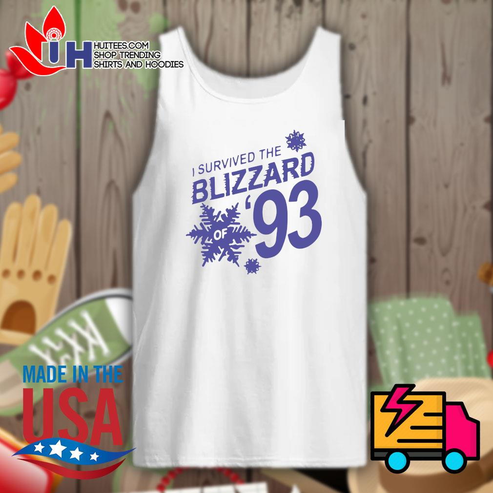 I survived the Blizzard of 93 s Tank-top