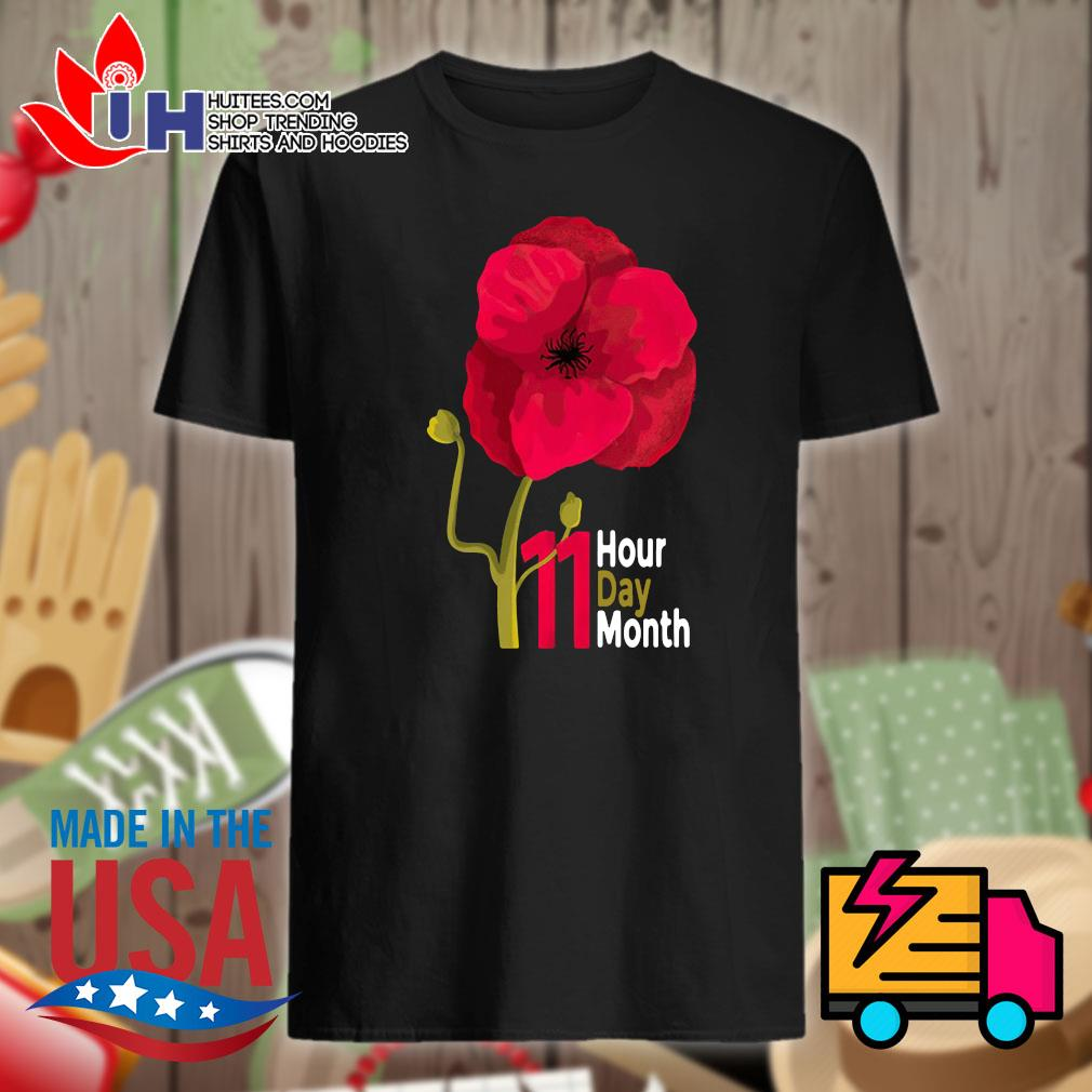 Veterans Day 2020 11 hour day month shirt