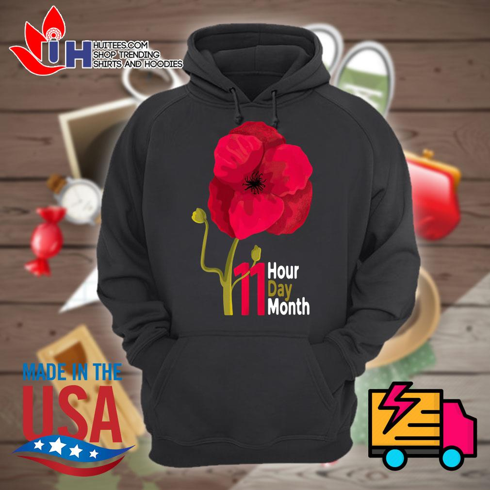 Veterans Day 2020 11 hour day month s Hoodie