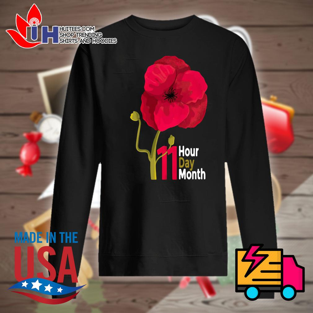 Veterans Day 2020 11 hour day month s Sweater