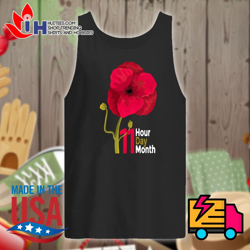 Veterans Day 2020 11 hour day month s Tank-top